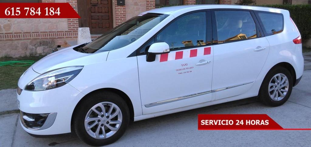 159865-taxi-tierra-de-pinares-auto-blanco