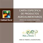 Carta Específica de Productos Agroalimentarios